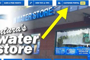 Customer Portal NEW - Direction to New Link for Account - Ventura's Water Store