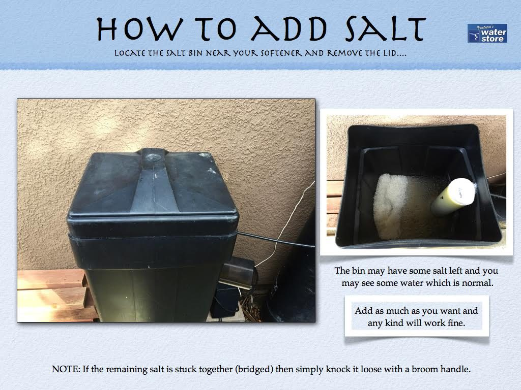 How To Add Salt to your Water Softener