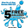 5 Gallons of FREE Water for a five star Review - Ventura's Water Store
